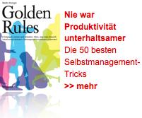 Nie war Produktivität unterhaltsamer: Golden Rules bei Amazon