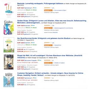 Zeitmanagement und Lernen lernen Bücher von Motivationsexperten Dr. Martin Krengel