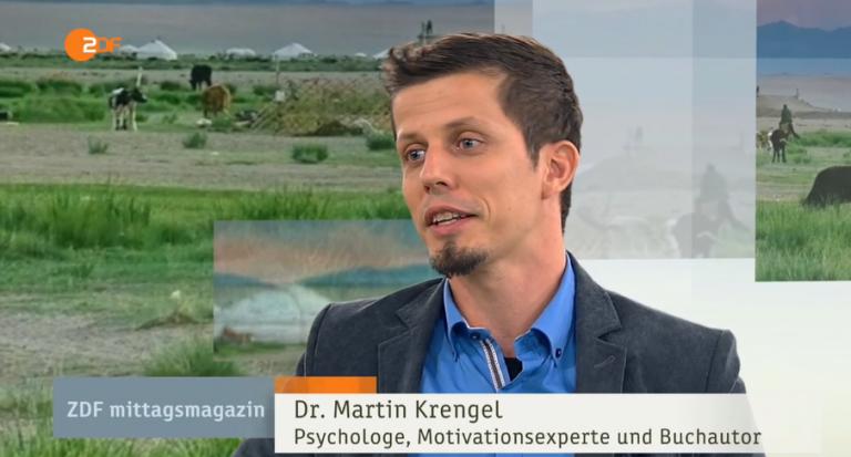 Dr Martin Krengel - Mittagsmagazin ZDF-Gehe-dahin-wo-die-Angst-sitzt-Zeitmanagement-Lernen-Persoenlichkeitsentwicklung-768x413