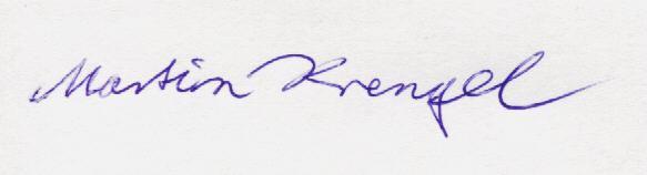 Dr Martin Krengel Unterschrift