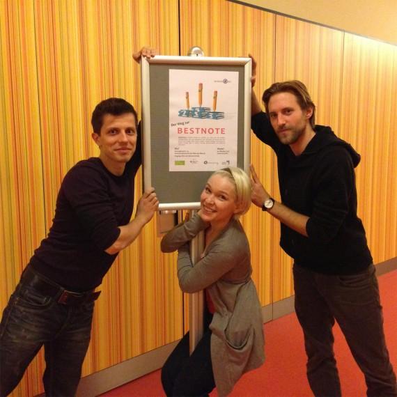 Studienstrategie-Team Martin Krengel, Stephanie Dawid und Kai Gondlach