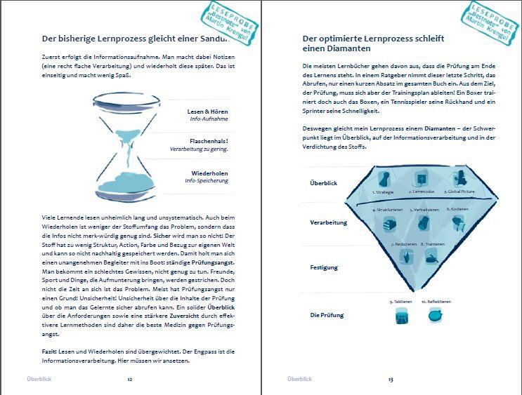 Bestnote Lernratgeber Buch lernen lernen - Vorschau Inhalt und Einleitung