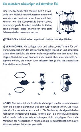 """Bild zeigt Ausschnitt aus dem Buch """"Bestnote"""" und erklärt wie man Chemie in der Schule oder im Studium leichter lernen kann"""