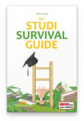 "Cover des Zeitmanagement-Motivation-Ratgebers ""Studi-Survival-Guide"""