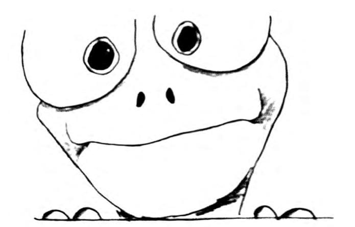 Eat that frog: Die wichtigste Aufgabe zuerst erledigen - Der Frosch als Symbol für Zeitmanagement