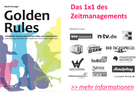 Golden Rules: Das 1x1 des Zeitmanagements