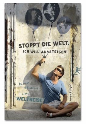 """Weltreise Abenteuer Backpacking Reisebericht """"Stoppt die Welt, ich will aussteigen! Kuriose Abenteuer einer Weltreise"""" von Autor Martin Krengel"""