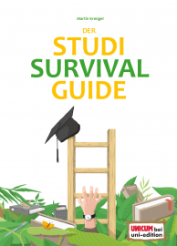 "Cover des Zeitmanagement-Motivation-Ratgebers ""Studi-Survival-Guide"""