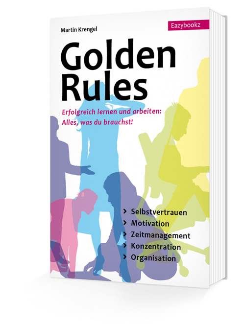 zeitmanagement, buchcover golden rules