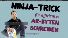 Zeit sparen - Mein Ninja-Trick zum effizienten schreiben + arbeiten - Tool-produktiver durch Software