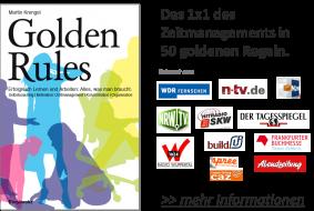 Golden Rules Das 1x1 des Zeitmanagements in 50 goldenen Regeln