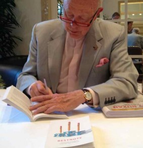 Tony Buzan signiert meine Bestnote