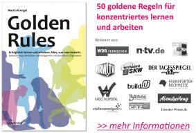 Infos zu den Golden Rules von Martin Krengel