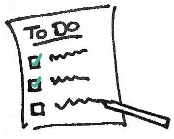 zeitmanagement aufgabenplanung mit to do listen. Black Bedroom Furniture Sets. Home Design Ideas