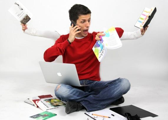 Multitasking erzeugt Stress und ist schlecht für die Konzentration