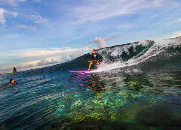 Mentale Stärke emotionale Intelligenz Martin Krengel surft auf Fiji