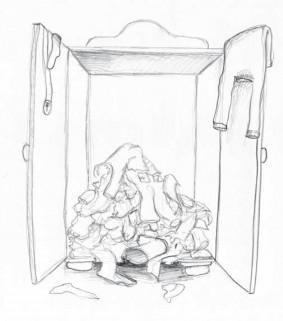 Kleiderschrank Chaos - Tipps für mehr Ordnung