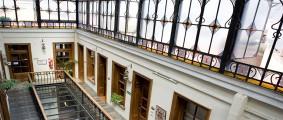 Die schönen Räume der Sprachschule Academia in Buenos Aires