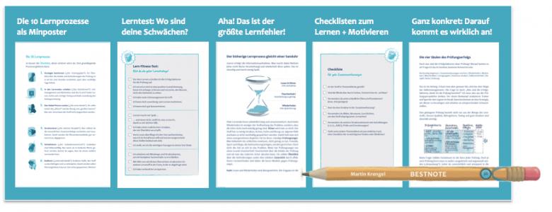 Lern-Starter-Kit zur Prüfungsvorbereitung