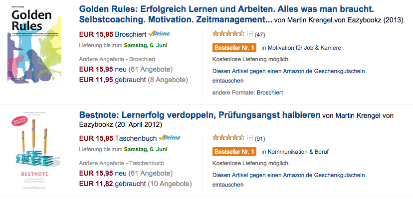 2 Bestseller von Martin Krengel
