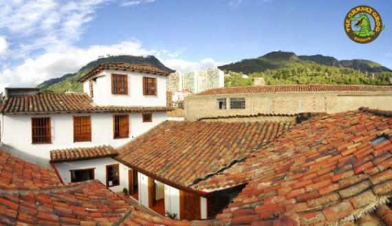 Sprachschule in Bogota - Cranky Croc Hostel
