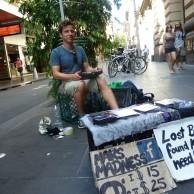 Meine 5-Minuten-Karriere als Strassenmusikant in Australien