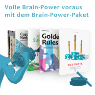 Pferfektes Zeitmangement, mehr Motivation und das richtige Selbstcoachning mit dem Brain-Power-Paket