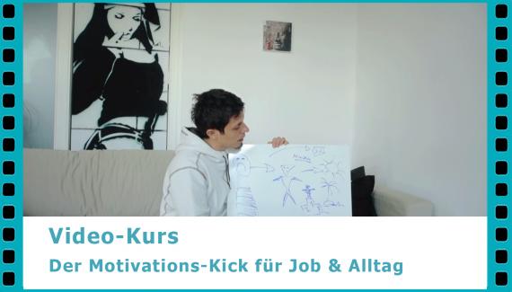 Der Motivations-Kick – wie du mehr Motivation im Alltag und Job findest und dich täglich zu mehr Sport motivieren kannst - Video-Kurs von Dr. Martin Krengel