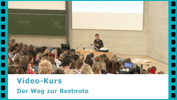 Die richtige Lernstrategie – der Weg zur Bestnote - bessere Noten in Referaten, Hausarbeiten und Klausuren – Video-Kurs von Dr. Martin Krengel