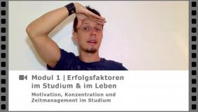 Modul-1 - Erfolgsfaktoren - Video-Kurs Motivation, Konzentration und Zeitmanagement im Studium - von Dr. Martin Krengel