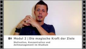 Modul 2 - Erfolg, Zufriedenheit & Ziele - Video-Kurs Motivation, Konzentration und Zeitmanagement im Studium - von Dr. Martin Krengel