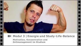 Modul 3 - Motivation, Energie und Zufriedenheit - Video-Kurs Motivation, Konzentration und Zeitmanagement im Studium - von Dr. Martin Krengel