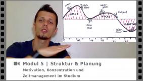 Modul 5 - Struktur und Planung - Video-Kurs Motivation, Konzentration und Zeitmanagement im Studium - von Dr. Martin Krengel