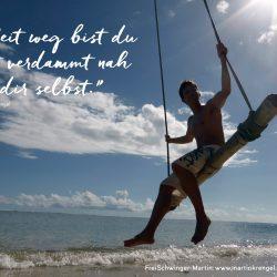 Motivationssprueche - Dinge motiviert Leben - Kurzzitat und Spruch fuer Sport, Arbeit und Erfolg - Motiviert Dinge anpacken - Motivationszitat von Dr Martin Krengel