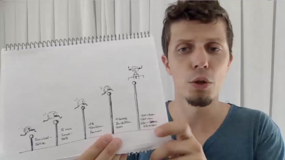 Sprachen lernen - Vokabeln lernen - Englisch Spanisch Französisch Schule Hausaufgaben Sprachkurs Sprachschule - Videokurs von Dr Martin Krengel - Modul 5