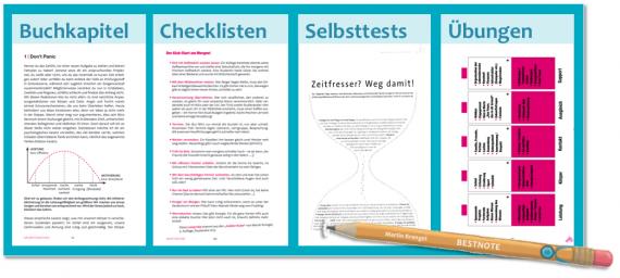 Konzentration / Produktivitat / Software / produktiver arbeiten denken schreiben lernen / mehr Effizienz / Dr Martin Krengel