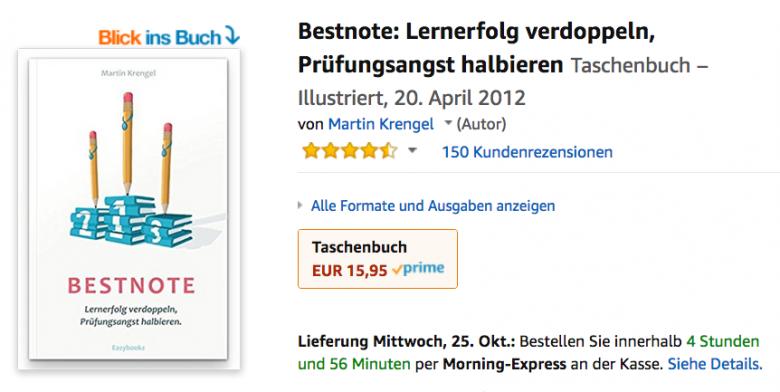 Der Lernbestseller Nr.1 - Bestnote von Dr Martin Krengel