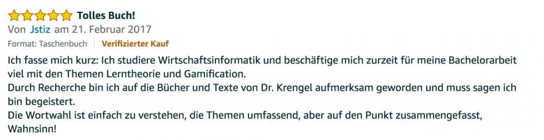 Erfahrungsbericht Lernkurs - Bestnote - Lernseminar - Lernratgeber - Buch Besser lernen - beste Lernmethode für Schueler und Studenten - Meinung - zu Martin Krengel 9