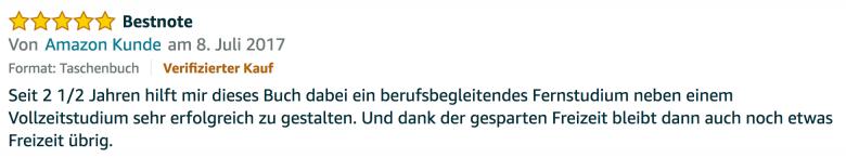 Erfahrungsbericht Lernkurs - Bestnote - Lernseminar - Lernratgeber - Buch Besser lernen - beste Lernmethode für Schueler und Studenten - Meinung - zu Martin Krengel.57