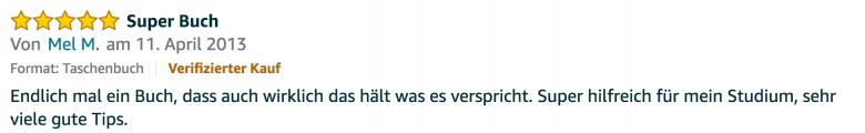 Erfahrungsbericht Lernkurs - Bestnote - Lernseminar - Lernratgeber - Buch Besser lernen - beste Lernmethode für Schueler und Studenten - Meinung - zu Martin Krengel51.51