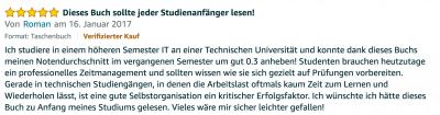 Erfahrungsbericht Lernkurs - Bestnote - Lernseminar - Lernratgeber - Buch Besser lernen - beste Lernmethode für Schueler und Studenten - Meinung - zu Martin Krengel52.24
