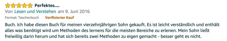 Rezension - Martin Krengel - Lerntipps - einfacher lesen und dinge verstehen und merken in Schule und Studium - Bestnote - Lernratgeber.09.05