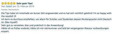 Rezension - Martin Krengel - Lerntipps - einfacher lesen und dinge verstehen und merken in Schule und Studium - Bestnote - Lernratgeber.12.27