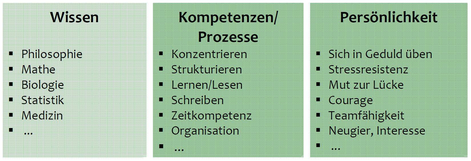 Erfolg im Studium - Worum geht es? - worauf kommt es an? - Grafik- Buch - Zeitmanagement - Selbstmanagement - Motivation - Selbstmotivation - Konzentration - Studium - Lernen - Ratgeber Dr. Martin Krengel