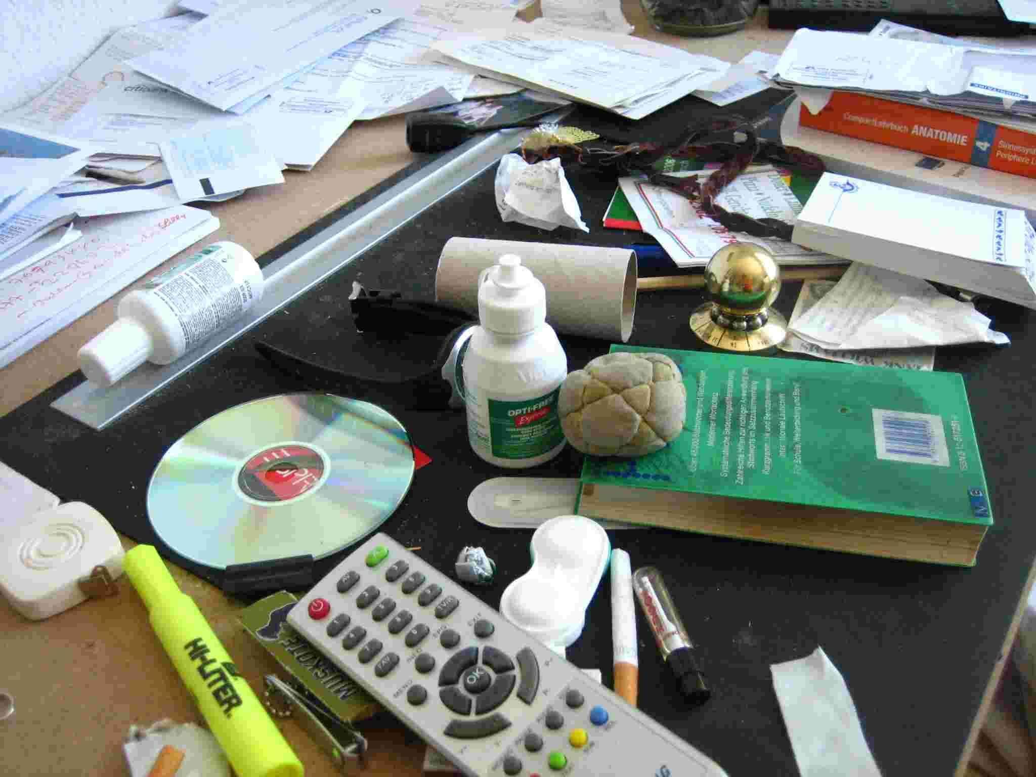 Schreibtisch - Ordnung und Organisation - Buch - Zeitmanagement - Selbstmanagement - Motivation - Selbstmotivation - Konzentration - Studium - Lernen - Ratgeber Dr. Martin Krengel