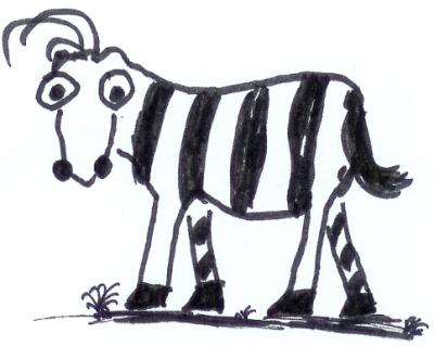 Mindset-Zebra-keine negative Gedanken-Pessimismus - Dr. Martin Krengel