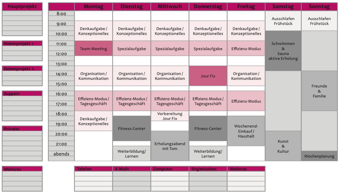 Wochenplan Vorlage zum Ausdrucken - Wochenplaner zum Download von Dr. Martin Krengel3.png