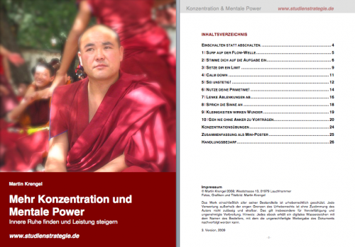 Inhaltsverzeichnis ebook3-KONZENTRATION