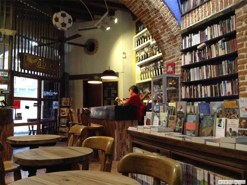 Und auch dieses Café bietet eine perfekte Mischung ...