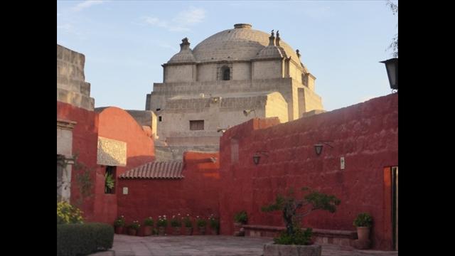 Stadtbild in Arequipa, Peru